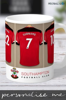 Personalised Southampton Mug by Personalised Football Gifts