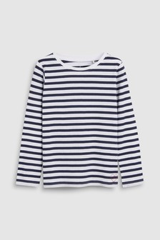 Breton Stripe Long Sleeve T-Shirt (3-16yrs)