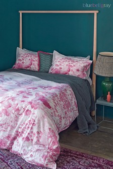 Bluebellgray Frankie Pink Duvet Cover and Pillowcase Set