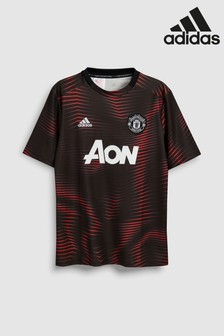 adidas Black Manchester United Jersey