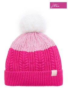 Joules Knitted Bobble Hat