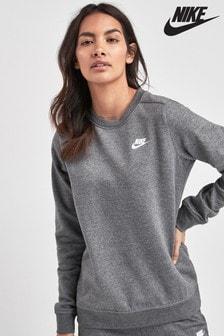 Флисовый джемпер с круглым вырезом Nike Club