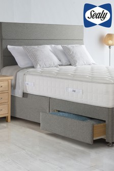 Napoli Latex 1400 Mattress, Divan And Headboard By Sealy