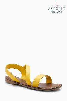 Seasalt Yellow Sunny Cove Sandal