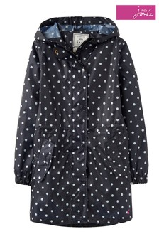 Joules Navy Go-Lightly Packaway Waterproof Jacket