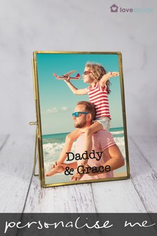 Personalised Daddy Photo Frame by Loveabode