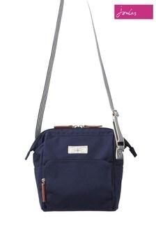 Joules Blue Coast Cross Body Fabric Bag