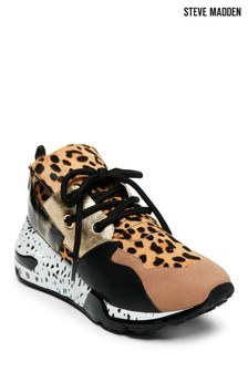Steve Madden Animal Block Cliff Sneaker