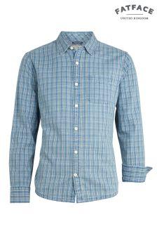 FatFace Blue Crowthorne Check Shirt