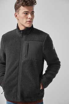 Fleece Zip Through Jacket