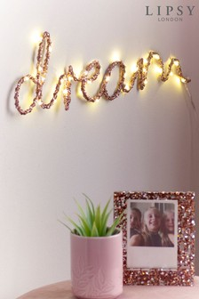 Lipsy Lit Dream Wall Light