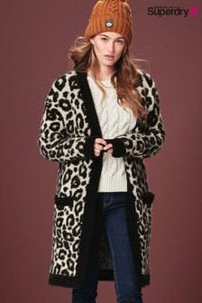 Superdry Leopard Cardigan