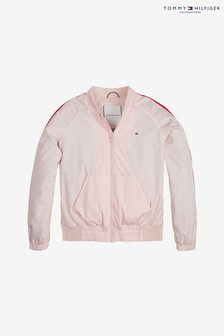 Tommy Hilfiger Girls Essential Tape Jacket