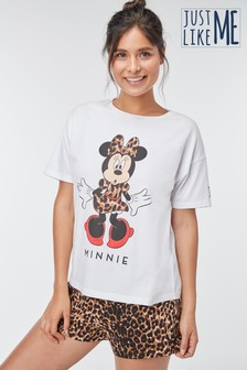 Women's Matching Family Minnie Mouse™ Short Set Pyjamas
