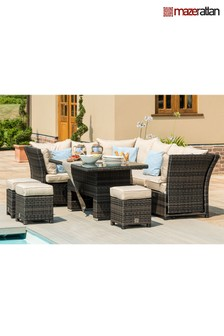 Henley Corner Dining And Lounge Set By Maze Rattan