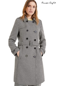 Phase Eight Black Tabatha Trench Coat
