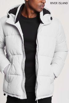 River Island Grey Padded Jacket