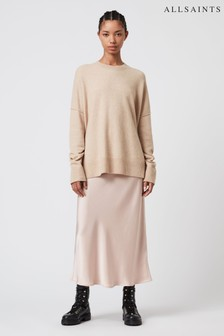 AllSaints Rose Pink 2 in 1 Jumper Dress