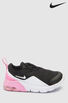 Nike Black/Pink Air Max Motion Infant Trainers