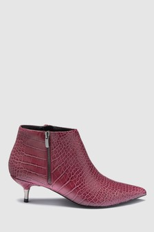 Kitten Heel Ankle Boots b6d6732c2