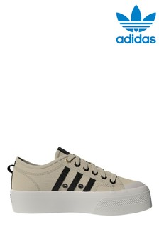 adidas Cream Trainers