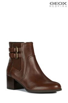 Geox Women's Jacy Brown Boot