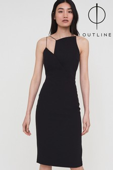 Outline Black Maxwell Dress