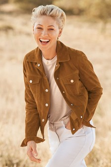 Emma Willis Suede Western Jacket
