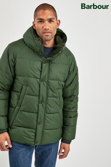 Barbour® Green Switun Quilted Jacket