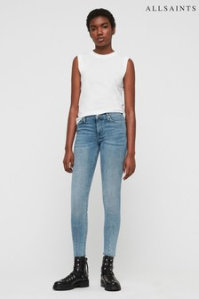 AllSaints Light Indigo Wash Grace Skinny Jean