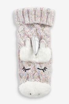 Unicorn Bed Socks