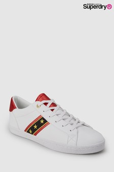 Superdry White Tape Low Pro