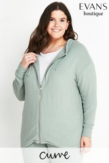 Evans Curve Soft Touch Hoody
