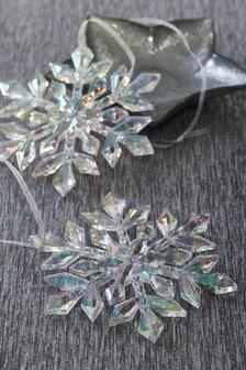 Набор из 2 украшений в форме снежинки