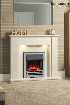 Elda Marble Fireplace Suite