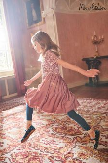 Boden Pink Sequin Party Dress