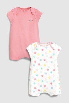 Spot Rompers Two Pack (0個月至2歲)
