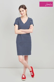 Joules Riviera V-Neck Jersey Dress