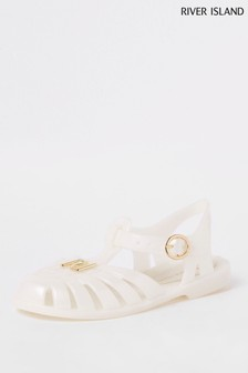 River Island Caged Jelly Shoe