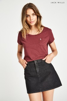 Jack Wills Damson Fullford T-Shirt