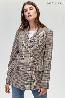 Warehouse Honey Check Jacket