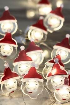 20 Santa Line Lights