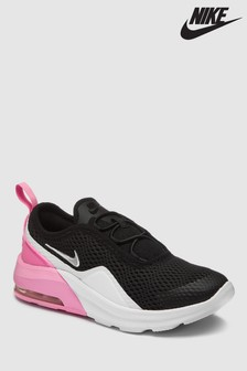 Nike Black/Pink Air Max Motion Junior