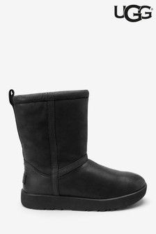 UGG® Classic Short Leather Waterproof Boots