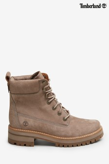 Timberland®灰褐色磨砂Courmayeur Valley靴款