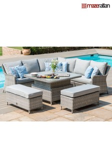 Royal Corner Dining And Lounge Set By Maze Rattan