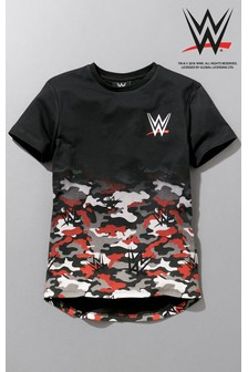 WWE Camouflage T-Shirt (3-16yrs)