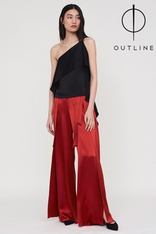Outline Red Audley Trouser