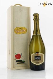 Le Bon Vin Thank You Teacher Prosecco Gift Box