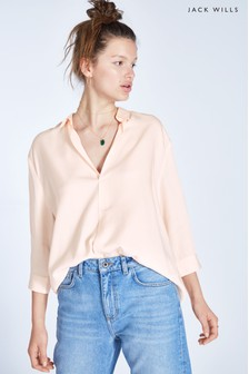 Jack Wills Pink Southcote Soft Casual Shirt